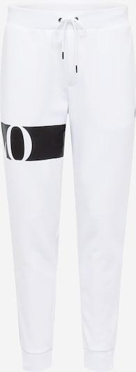 POLO RALPH LAUREN Spodnie w kolorze czarny / białym, Podgląd produktu