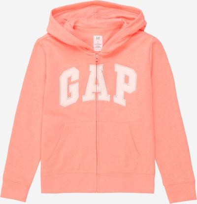 GAP Sweatjacke in azur / lachs / weiß, Produktansicht