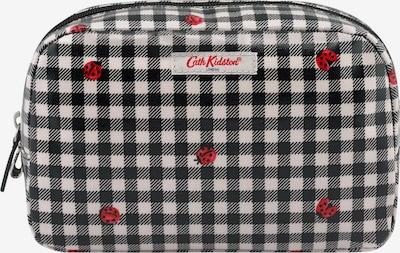 Cath Kidston Waschtasche in hellgrau / rot / schwarz, Produktansicht