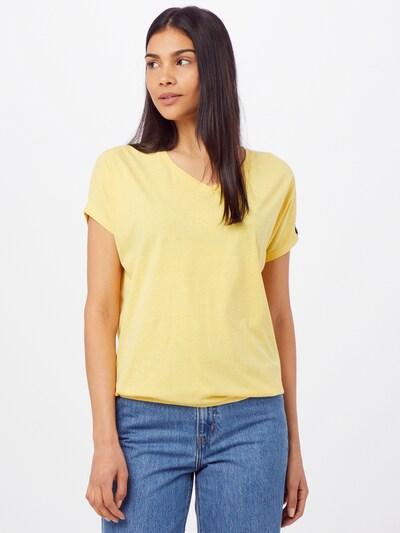 Fli Papigu T-Shirt 'The Choices we make' in gelbmeliert: Frontalansicht