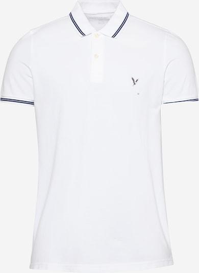 Tricou American Eagle pe albastru marin / alb, Vizualizare produs