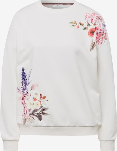 Cross Jeans Sweatshirt ' 65249 ' in grün / pink / weiß, Produktansicht