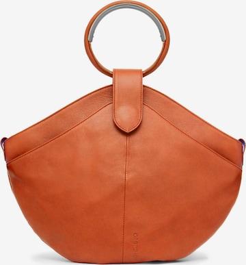 Gretchen Handbag 'Maple Metal Tote' in Orange
