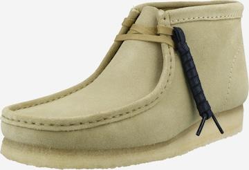 Clarks Originals Chukka Boots 'Wallabee' i beige