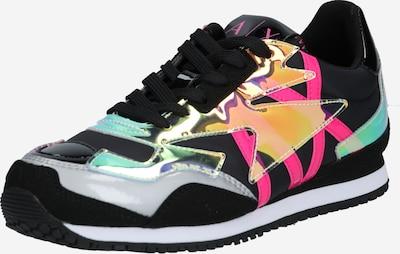 ARMANI EXCHANGE Sneaker in fuchsia / schwarz / weiß, Produktansicht