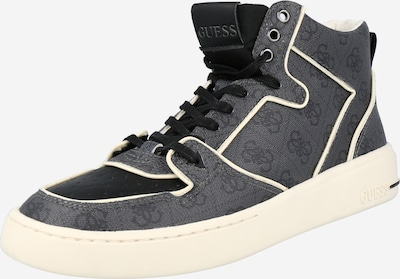 GUESS Sneakers high 'Verona' in grey / black / white, Item view