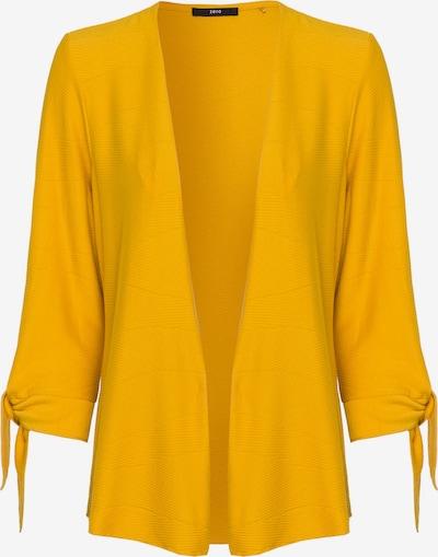zero Strickjacke in gelb, Produktansicht