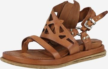 A.S.98 Sandale 'POLA FLASH' in Braun