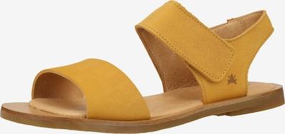 EL NATURALISTA Sandalen met riem in de kleur Goudgeel, Productweergave