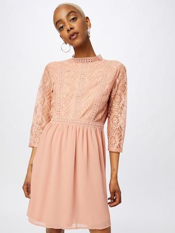 VILA Φόρεμα κοκτέιλ 'MICADA' σε ροζ