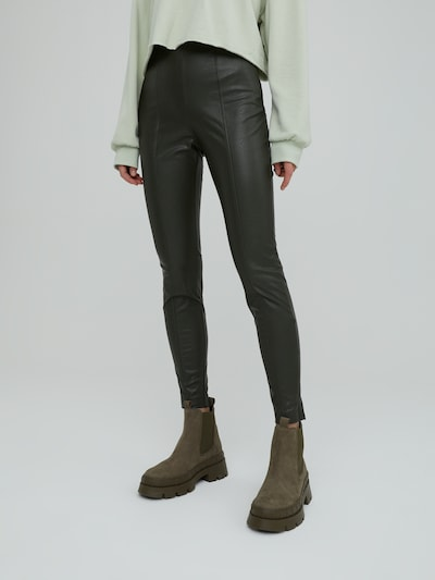 Leggings 'Teresa' EDITED pe verde, Vizualizare model