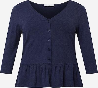 Tricou 'Ivana' ABOUT YOU Curvy pe albastru închis, Vizualizare produs
