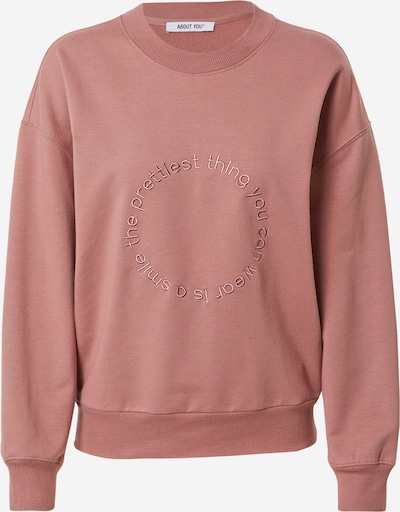 ABOUT YOU Zip-Up Hoodie 'Nancy' in Pink, Item view