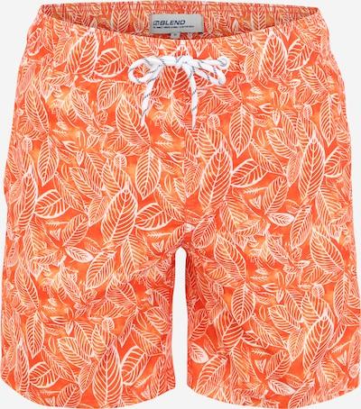 BLEND Plavecké šortky - oranžová / tmavě oranžová / bílá, Produkt
