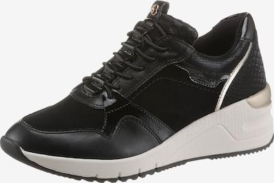 arany / fekete TAMARIS Rövid szárú edzőcipők, Termék nézet