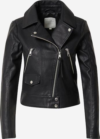 TOM TAILOR DENIM Between-season jacket in Black