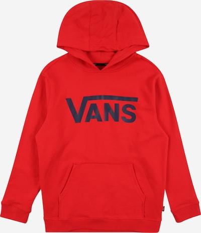 VANS Sweatshirt in nachtblau / rot, Produktansicht