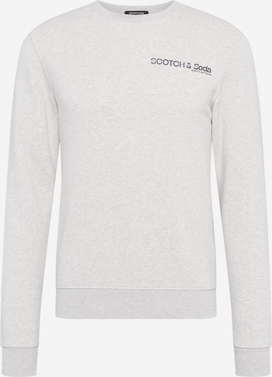 SCOTCH & SODA Sweatshirts 'Crew neck logo sweat' in graumeliert, Produktansicht