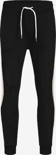 Ordinary Truffle Sweathose 'NILS' in schwarz / weiß, Produktansicht