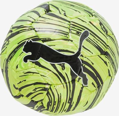 PUMA Ball in neongrün / schwarz, Produktansicht