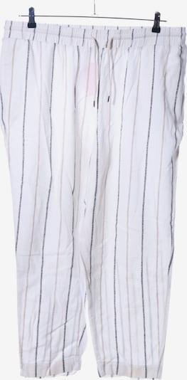 VIOLETA by Mango Stoffhose in XL in schwarz / weiß / wollweiß, Produktansicht