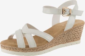 JANE KLAIN Sandale in Weiß