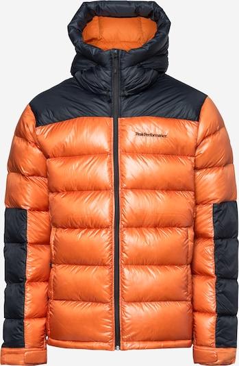 Geacă sport 'Frost Glacier' PEAK PERFORMANCE pe portocaliu / negru, Vizualizare produs
