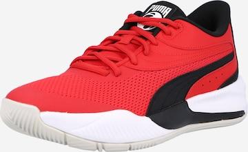 PUMA Спортни обувки 'Triple' в червено