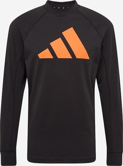 ADIDAS PERFORMANCE Functioneel shirt in de kleur Sinaasappel / Zwart, Productweergave