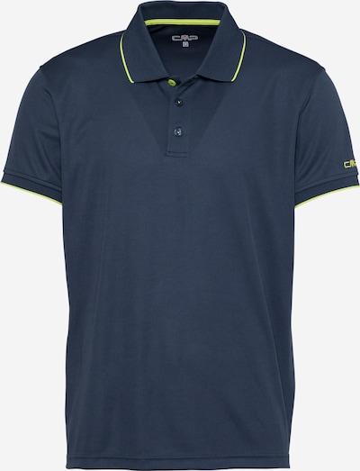 Tricou funcțional CMP pe albastru marin / verde deschis, Vizualizare produs