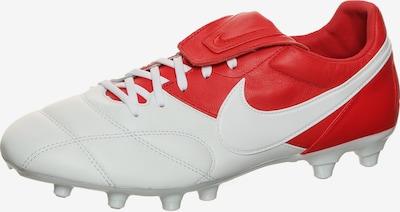 NIKE Fußballschuh 'Premier II FG' in rot / weiß, Produktansicht
