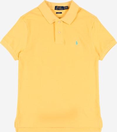 POLO RALPH LAUREN Tričko 'CUSTOM' - svetlomodrá / žltá, Produkt