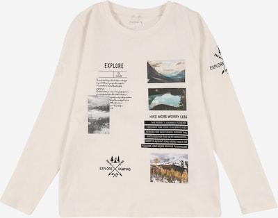 NAME IT Shirt 'SULA' in mischfarben / schwarz / weiß, Produktansicht