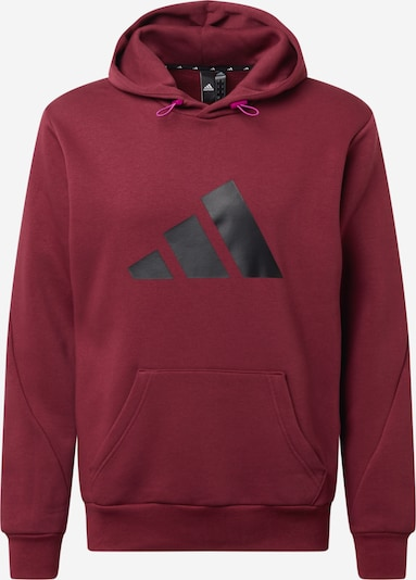 ADIDAS PERFORMANCE Sportsweatshirt in pink / bordeaux / schwarz, Produktansicht