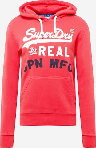 Superdry Sweatshirt in Rot