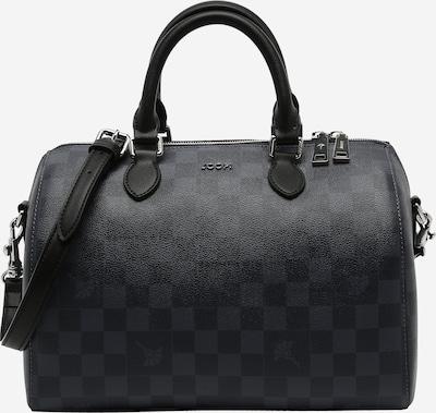 JOOP! Handtasche 'Aurora' in dunkelblau / silbergrau, Produktansicht