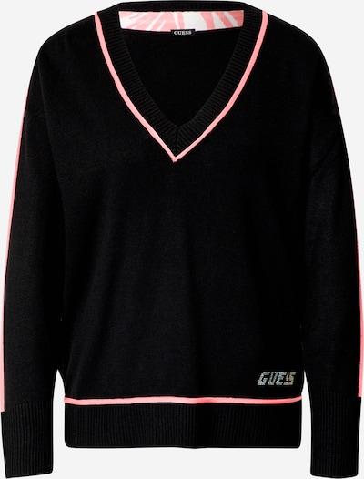 Pullover GUESS di colore rosa / nero / argento, Visualizzazione prodotti