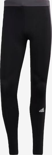 Pantaloni sport 'Saturday Block Better' ADIDAS PERFORMANCE pe gri / negru / alb, Vizualizare produs