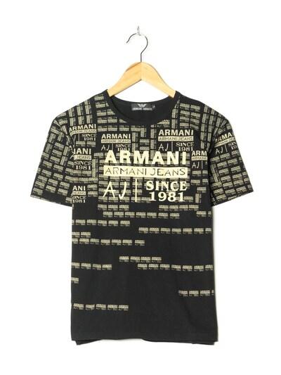 GIORGIO ARMANI T-Shirt in L in schwarz, Produktansicht