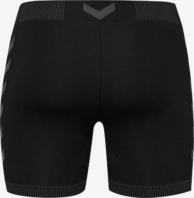 Hummel Hose in grau / schwarz, Produktansicht