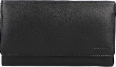 MIKA Portemonnaie in schwarz, Produktansicht