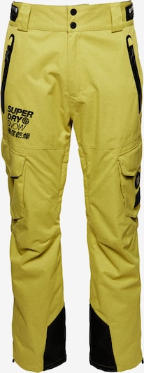 Superdry Snow Pantalon outdoor 'Ultimate Snow Rescue' en citron vert, Vue avec produit