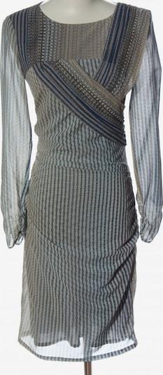 Reiss Langarmkleid in XS in blau / braun / wollweiß, Produktansicht