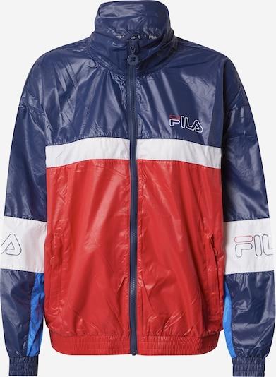 FILA Športna jakna 'JADA' | nebeško modra / temno modra / rdeča / bela barva, Prikaz izdelka
