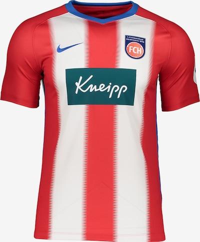 FC Heidenheim Trikot in rot / weiß, Produktansicht