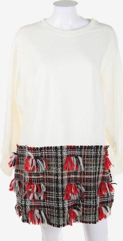 ZARA Sweatshirt in L in Weiß