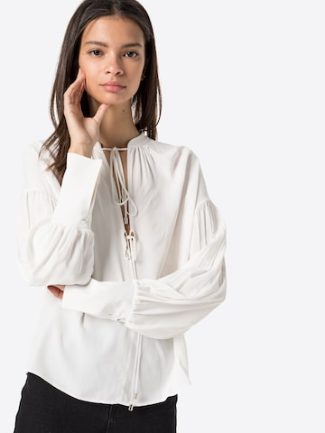 PATRIZIA PEPE - Blusa 'CAMICIA' en blanco