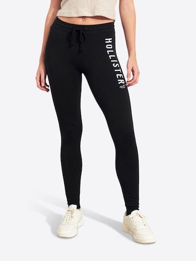 HOLLISTER Hose in schwarz / weiß, Modelansicht
