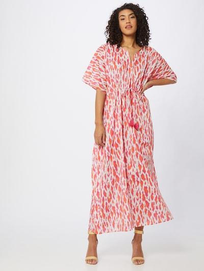 STEFFEN SCHRAUT Kleid 'Trancoso' in orange / hellrot / weiß, Modelansicht