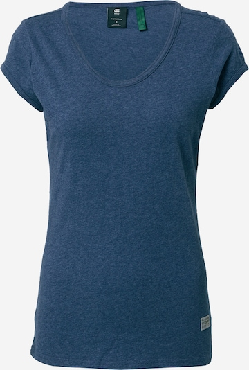 G-Star RAW Shirt 'Core Eyben' in de kleur Kobaltblauw, Productweergave